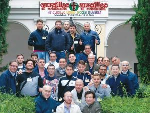 48° Cursillos Uomini Maddaloni (CE) dal 23 al 26 ottobre 2014