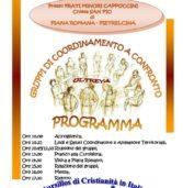 Convivenza territoriale gruppi operativi Lazio e Campania